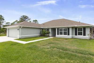Fort Pierce Single Family Home Contingent: 5811 Palm Drive