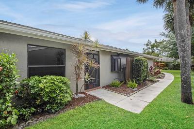 Boynton Beach Single Family Home Contingent: 253 Meadows Drive
