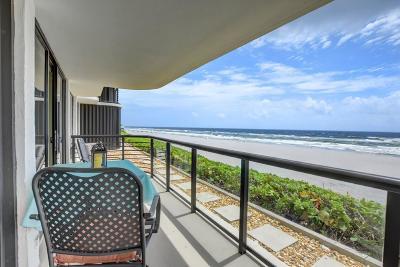 Condo For Sale: 250 S Ocean Boulevard #1e