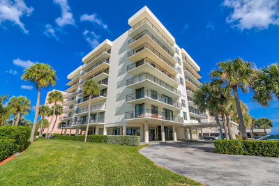 Palm Beach Condo For Sale: 3460 S Ocean Boulevard #711