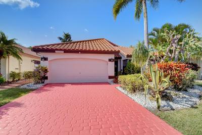 Boca Raton Single Family Home Contingent: 10784 White Aspen Lane