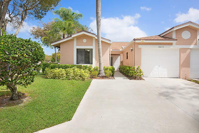 Boca Raton Single Family Home Contingent: 8455 Park Gate Road