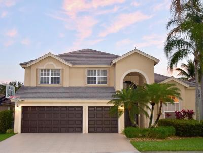 Boca Raton Single Family Home For Sale: 12345 Riverfalls Court
