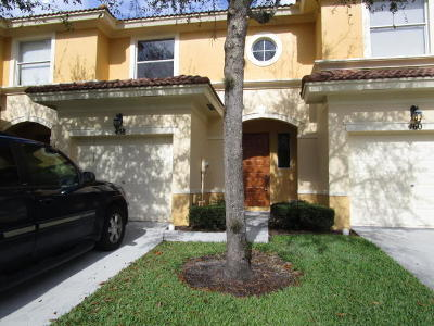 Royal Palm Beach Townhouse For Sale: 458 Rainbow Springs Terrace