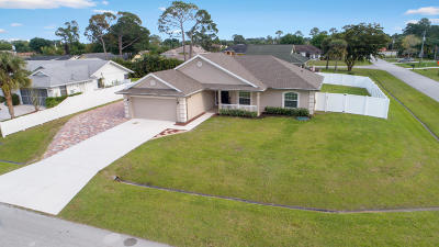 Port Saint Lucie FL Single Family Home Sold: $265,000
