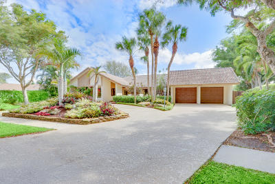 Delray Beach Single Family Home For Sale: 3131 Lakeview Drive