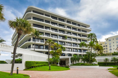 Palm Beach Condo For Sale: 2660 S Ocean Boulevard #204s