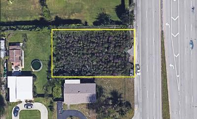 Delray Beach Residential Lots & Land For Sale: 13825 S Military Trail