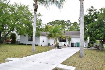 Port Saint Lucie Single Family Home Contingent: 1041 SW Sultan Drive