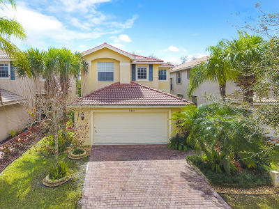 Royal Palm Beach Single Family Home Contingent: 11458 Silk Carnation Way