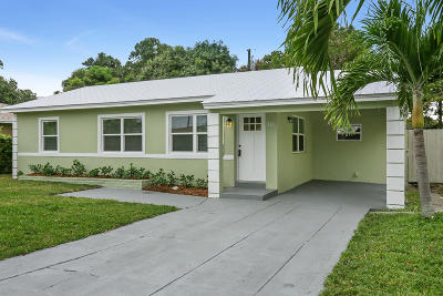 West Palm Beach Single Family Home For Sale: 814 44th Street