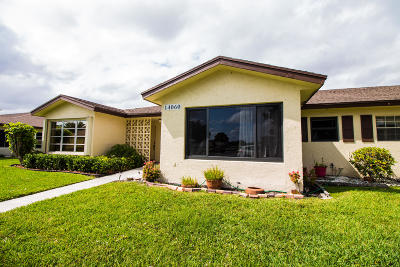 Delray Beach Single Family Home For Sale: 14060 Nesting Way #B