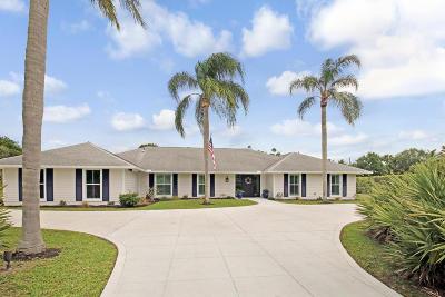 Jupiter Single Family Home For Sale: 5229 Old Fort Jupiter Road