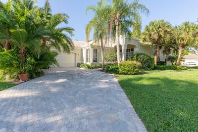 Eagles Landing Of P B Polo And Country Club Single Family Home For Sale: 2545 Players Court