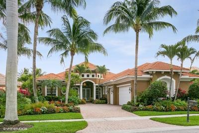 West Palm Beach Single Family Home For Sale: 8000 Cranes Pointe Way Way