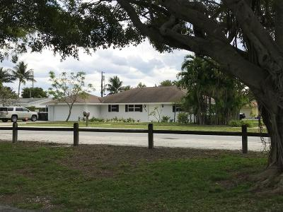 Lake Worth Single Family Home Contingent: 1722 Lake Osborne Drive