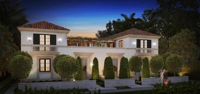 Palm Beach Townhouse For Sale: 237 Brazilian Avenue #1 (East)