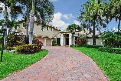 Boca Grove, Boca Grove Cc, Boca Grove Chateau, Boca Grove Los Reyos, Boca Grove Plantation, Boca Grove***gardens In The Grove***, Boca Grove/Chateau, Boca Grove/Coventry, Boca Grove/Gardens In The Grove Single Family Home For Sale: 7243 Valencia Drive