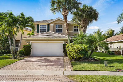 Greenacres Single Family Home For Sale: 5432 Queenship Court