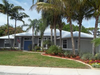 Stuart Single Family Home For Sale: 4589 SE Pompano Terrace