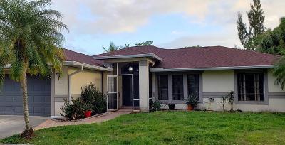Fort Pierce Single Family Home For Sale: 801 E Easy Street