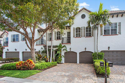 Delray Beach Townhouse For Sale: 1583 Estuary Trail