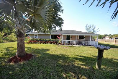 Royal Palm Beach Single Family Home For Sale: 12560 60th Street