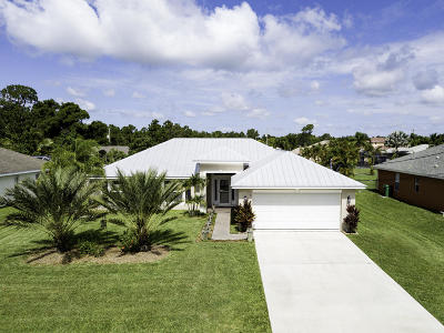 Port Saint Lucie Single Family Home For Sale: 5165 NW Aljo Circle
