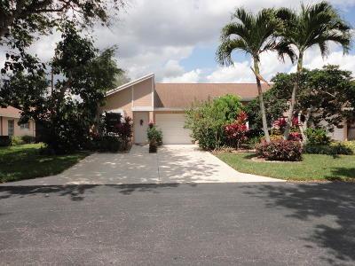 Boca Raton Single Family Home For Sale: 8183 Summerbreeze Lane #C