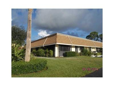 Jupiter FL Single Family Home For Sale: $224,900