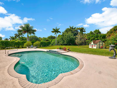 Lake Worth Single Family Home For Sale: 4590 Hunting Trail