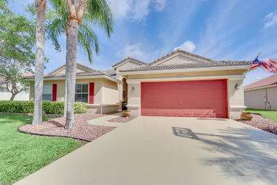 Lake Worth Single Family Home Contingent: 5382 Oakmont Village Circle