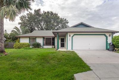 Port Saint Lucie Single Family Home For Sale: 522 NW Turton Terrace