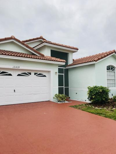 Boynton Beach Single Family Home For Sale: 12439 Pleasant Green Way