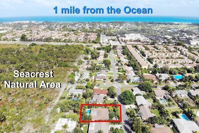 Boynton Beach Single Family Home Contingent: 309 SE 34th Avenue