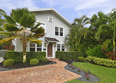 West Palm Beach Single Family Home For Sale: 3015 S Olive Avenue