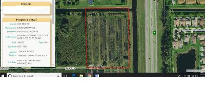 Delray Beach Residential Lots & Land For Sale: One Mile Road