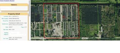 Delray Beach Residential Lots & Land For Sale: 8750 156th Court S