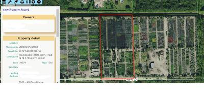 Delray Beach Residential Lots & Land For Sale: 000 Vacant Lot 0750