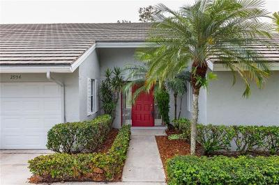 Palm City Single Family Home For Sale: 2954 SW Westlake Circle