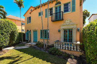 Palm Beach Single Family Home For Sale: 218 Everglade Avenue