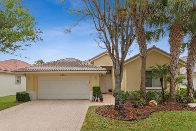 West Palm Beach Single Family Home For Sale: 2334 Sailfish Cove Drive