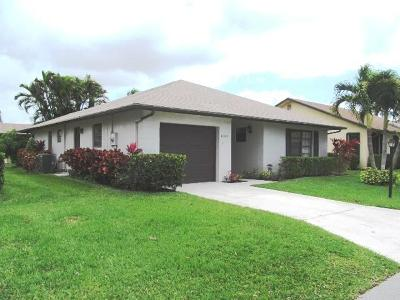 Greenacres Single Family Home For Sale: 6328 Tall Cypress Circle