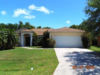 Port Saint Lucie Single Family Home For Sale: 2749 SW East Calabria Circle