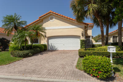 Delray Beach Single Family Home Contingent: 16497 Del Palacio Court