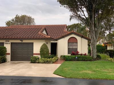 Boynton Beach Single Family Home For Sale: 5844 Sunswept Lane #B