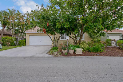Boynton Beach Single Family Home For Sale: 6141 Country Fair Circle