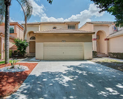 Coconut Creek Single Family Home For Sale: 5838 Eagle Cay Circle