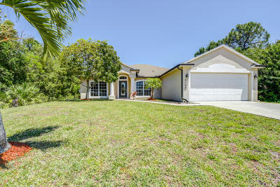 Port Saint Lucie Single Family Home For Sale: 2133 SW Larchmont Lane