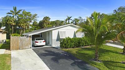 Jupiter Single Family Home For Sale: 145 Seminole Avenue